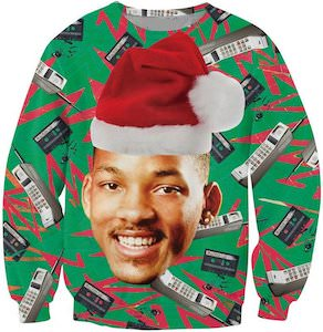 Will Smith As The Fresh Prince Of Bel Air Christmas Sweater