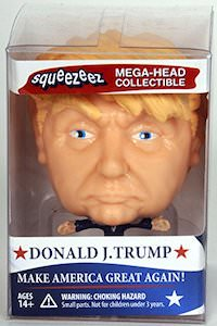 Donald Trump Squeezeez Mega Head Figurine