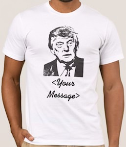 Personalized Donald Trump T-Shirt