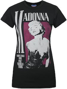 Madonna Who's That Girl Tour T-Shirt