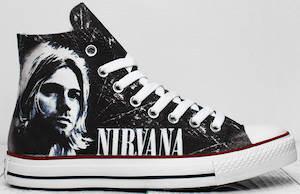 Nirvana Kurt Cobain Sneakers