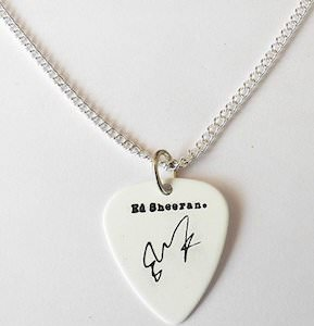 Ed Sheeran Guitar Pick Necklace
