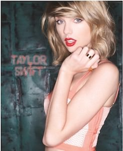 Taylor Swift Pocket Folder