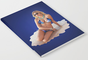 Kate Upton Bikini Notebook