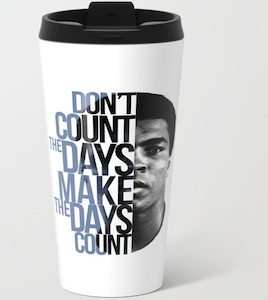 Muhammad Ali Travel Mug