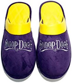 Purple Snoop Dogg Slippers