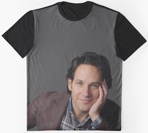 Paul Rudd Portrait t-shirt