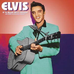 2019 Elvis Wall Calendar