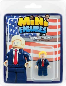 LEGO Donald Trump Minifigure