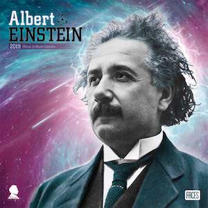 2019 Albert Einstein Wall Calendar