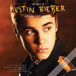 2019 Justin Bieber Wall Calendar