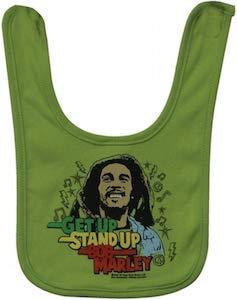 Bob Marley Baby Bib