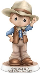 Precious Moments John Wayne Figurine