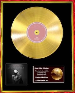 Ariana Grande Golden Record