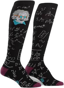 Einstein Math Socks