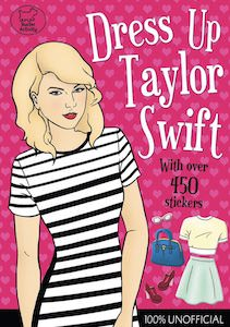 Dress Up Taylor Swift Sticker Book
