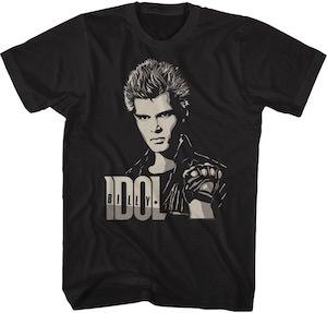 Billy Idol Portrait T-Shirt