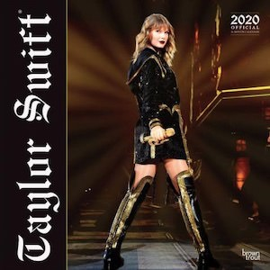 2020 Taylor Swift Wall Calendar