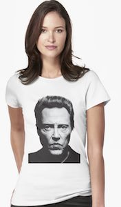 Christopher Walken Portrait T-Shirt