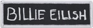 Billie Eilish Clothing Patch