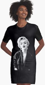 Marilyn Monroe T-Shirt Dress