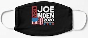 Vote Joe Biden Face Mask