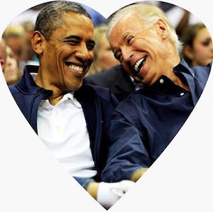 Biden And Obama Sticker