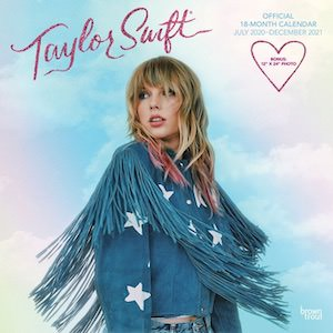 2021 Taylor Swift Wall Calendar
