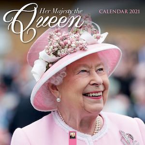 2021 Her Majesty The Queen Wall Calendar