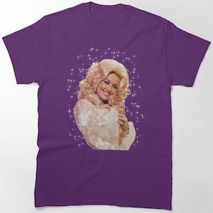 Dolly Parton And Kitty T-Shirt
