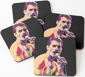 Freddie Mercury Coasters