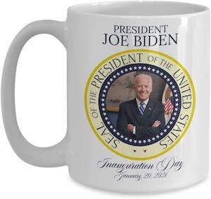 President Joe Biden Inauguration Day Mug