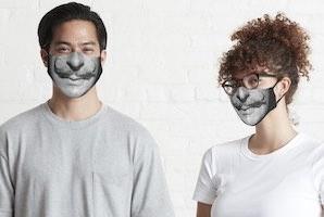 Salvador Dali Mustache Face Mask