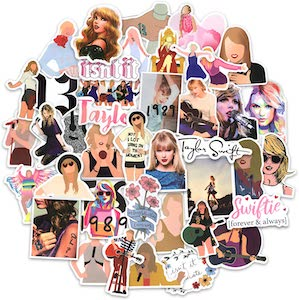 50 Piece Taylor Swift Sticker Set