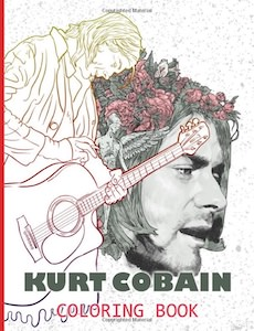 Kurt Cobain Coloring Book