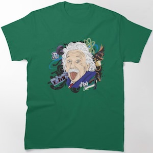 Albert Einstein And His World T-Shirt