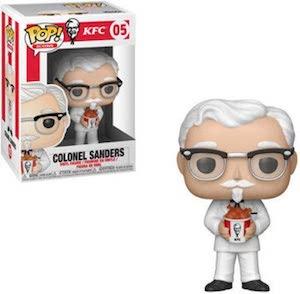 Colonel Sanders Pop! Figurine
