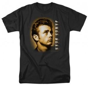James Dean Sepia Portrait T-Shirt