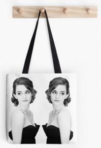 Emma Watson Mirror Tote Bag