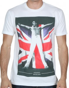British Flag Freddie Mercury T-Shirt