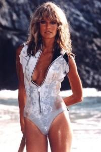 Farrah Fawcett Sunburn Swimsuit Poster
