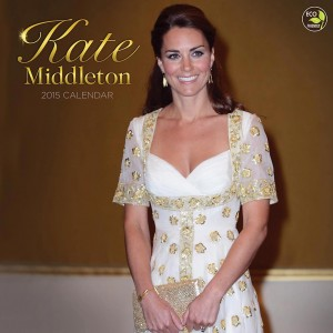 Kate Middleton 2015 Wall Calendar