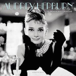 Audrey Hepburn Wall Calendar