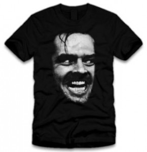 Jack Nicholson Here's Johnny T-Shirt