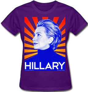 Hillary Clinton Women's T-Shirt