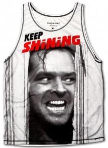 Jack Nicholson Keep Shining Tank top
