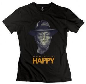 Pharrell Happy Bust Women's T-Shirt