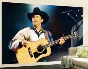 George Strait Giant Wall Mural