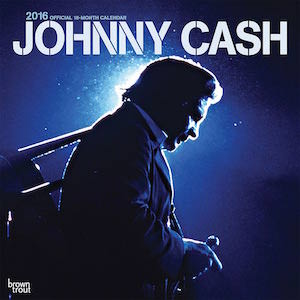 2016 Johnny Cash Wall Calendar