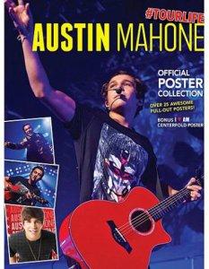 Austin Mahone Red Guitar Poster Book